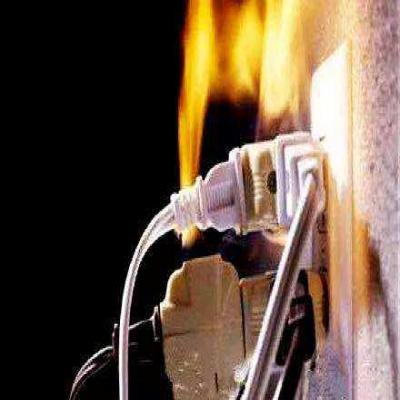 家用电器形成火灾的主要原因